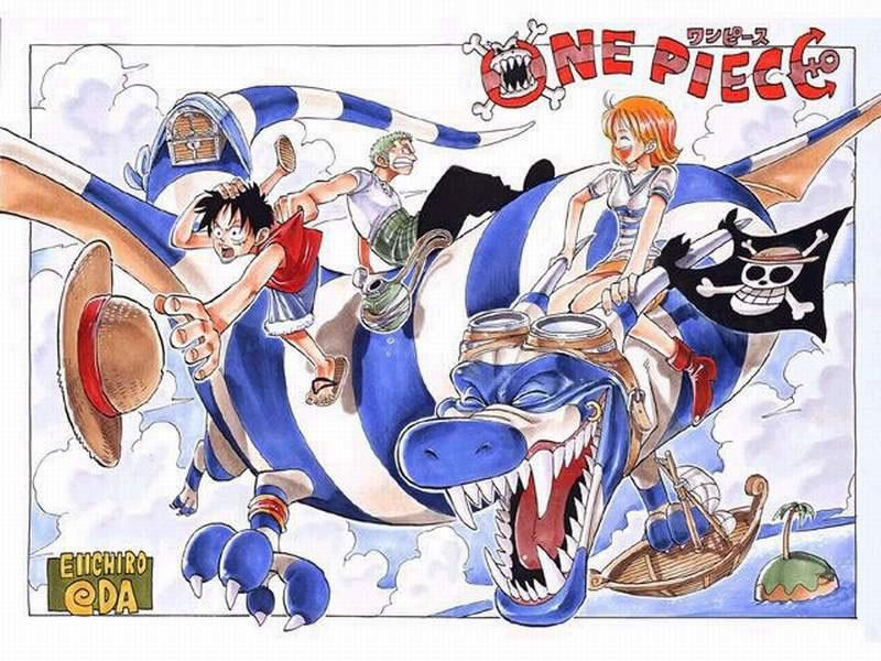one piece 001
